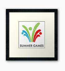 Summer Games Framed Print