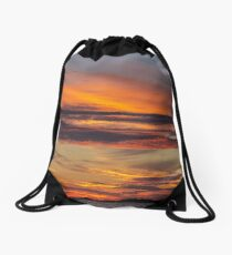 Crackington Sunset Drawstring Bag