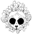Crocus skull by craftordiy