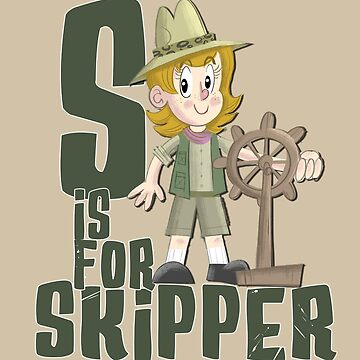 S is for Skipper -Female by JungleCrews