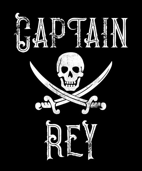 Personalized Captain Rey Shirt Vintage Pirates Shirt Personal Name Pirate TShirt by FairOaksDesigns