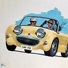 MURPHY feat. 1958 Austin Healey Bug Eyed Sprite by RosaFedele