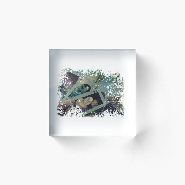 High-stakes Emotions Acrylic Block