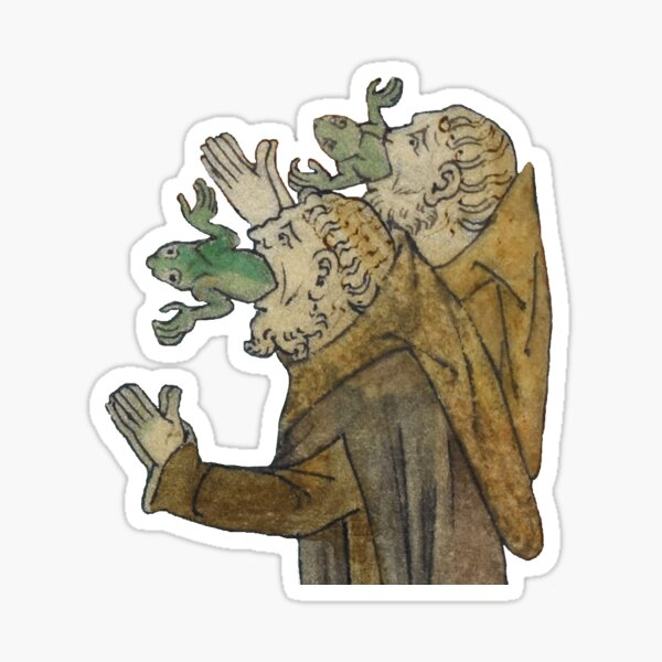 The Day After - Medieval Regrets Sticker