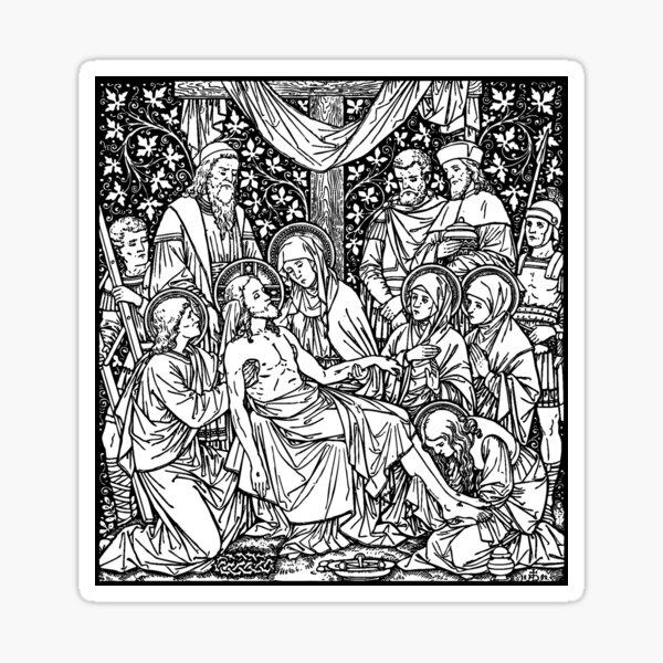 Pieta 01 Sticker