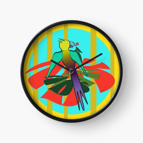 Drunk On Berries Clock