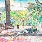 Cairns Esplanade Lagoon by John Douglas