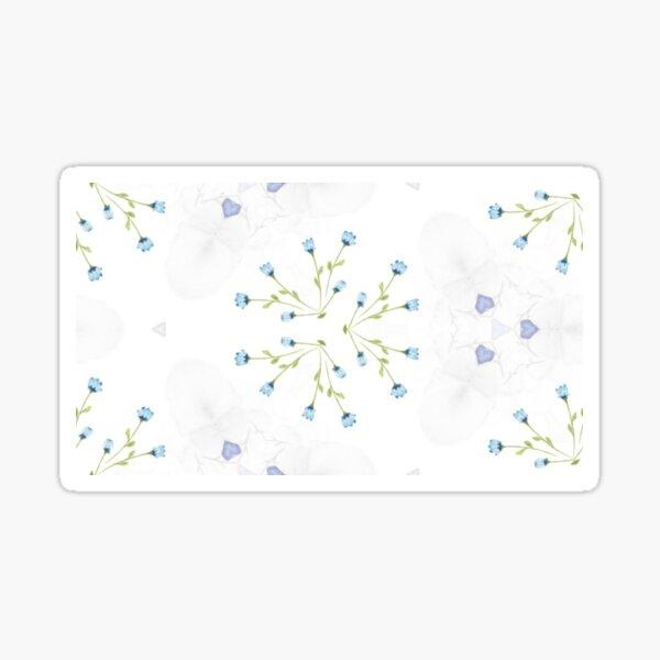 feminine Blütenblätter Sticker