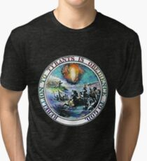 Rebellion To Tyrants Is Obedience To God Tri-blend T-Shirt