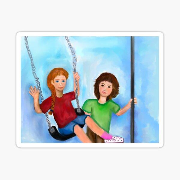 Let's Swing! Sticker