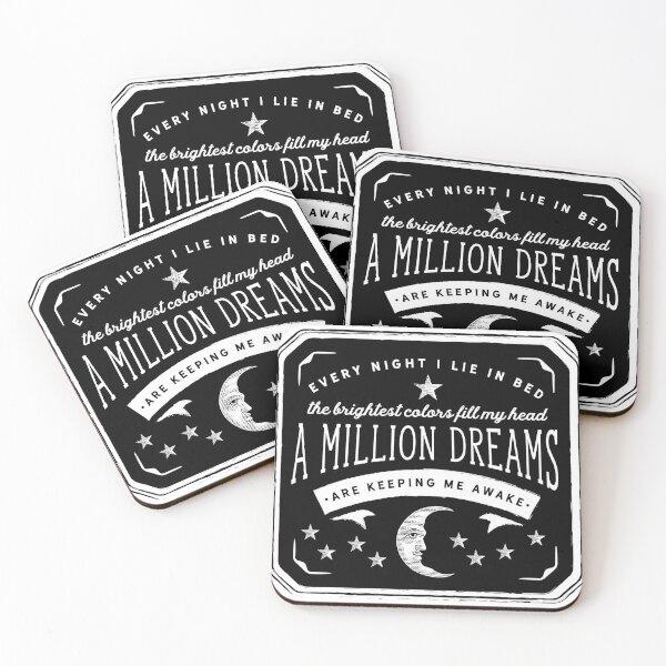A Million Dreams (The Greatest Showman) Coasters (Set of 4)