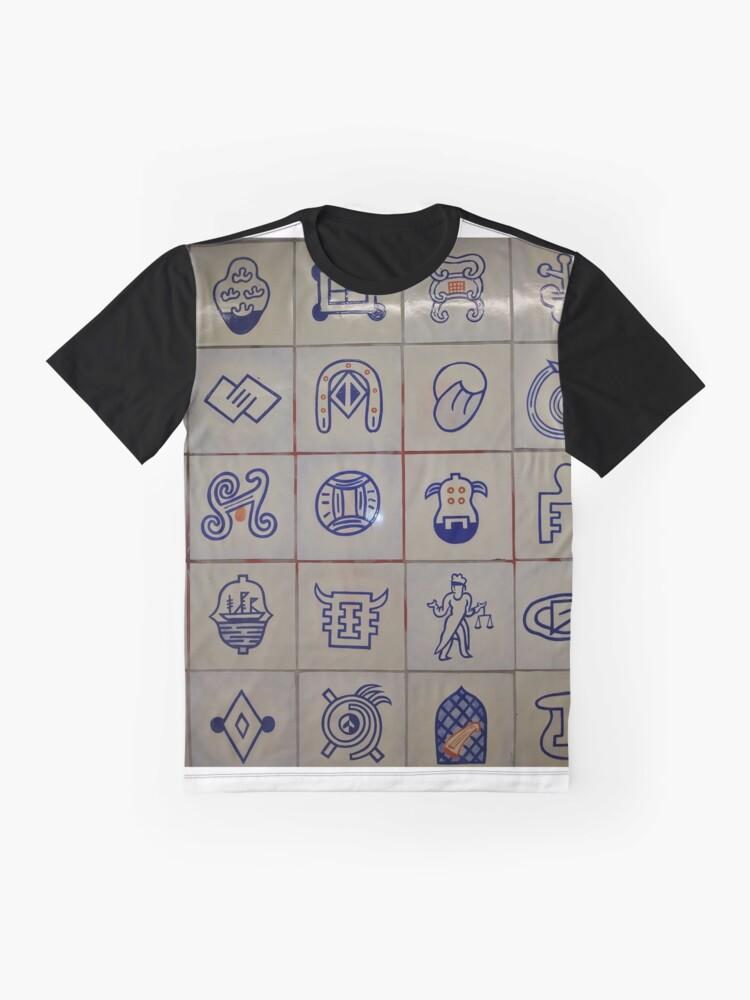 Alternate view of New York, Manhattan, #New York, #Manhattan Graphic T-Shirt