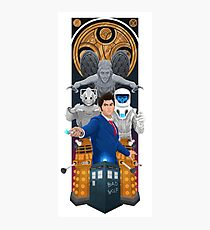 Time Lord Victorious Photographic Print