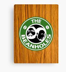 The Beanholes Woodgrain Canvas Print