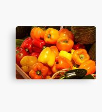 """"""" Hot and Mild """" Canvas Print"""
