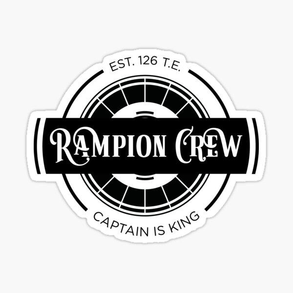 Lunar Chronicles Rampion Crew Sticker