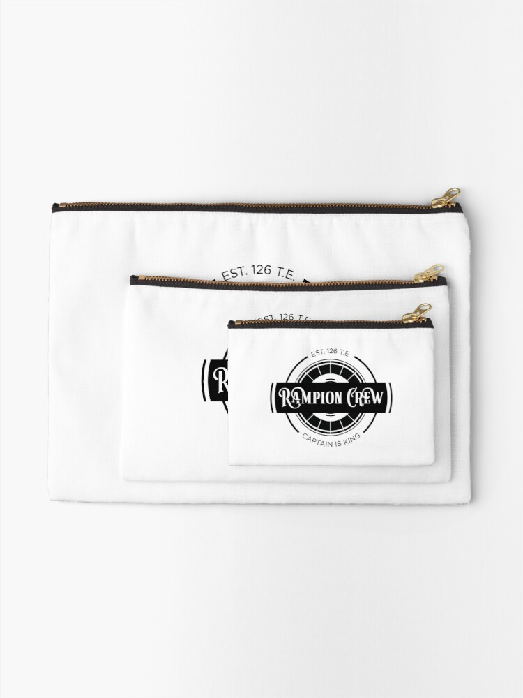 Alternate view of Lunar Chronicles Rampion Crew Zipper Pouch
