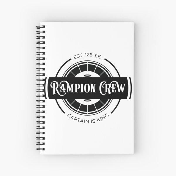 Lunar Chronicles Rampion Crew Spiral Notebook
