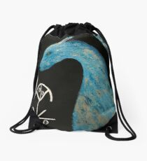 Dragon with Light Language Drawstring Bag