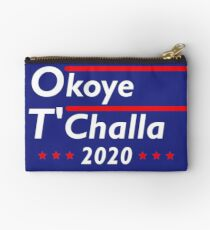 Okoye - T'Challa For President Zipper Pouch
