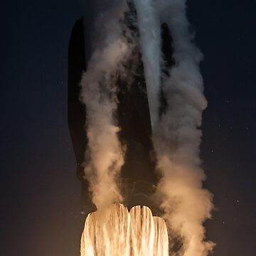SpaceX Falcon 9 Launch Close-Up by lurchmerch