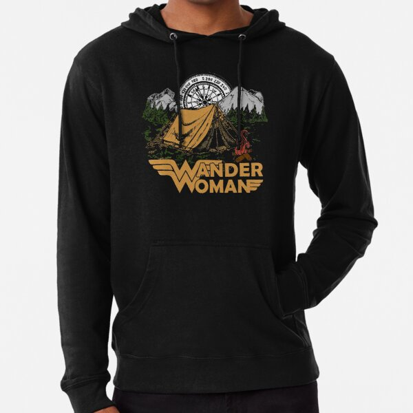 Retro Bigfoot Hippie Vintage 70s Vibe Believe Mens Funny Hooded Sweatshirt Hoodie