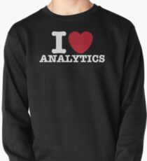 I Heart Analytics Pullover