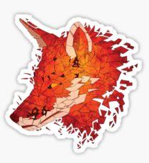 Fragment Fox Sticker