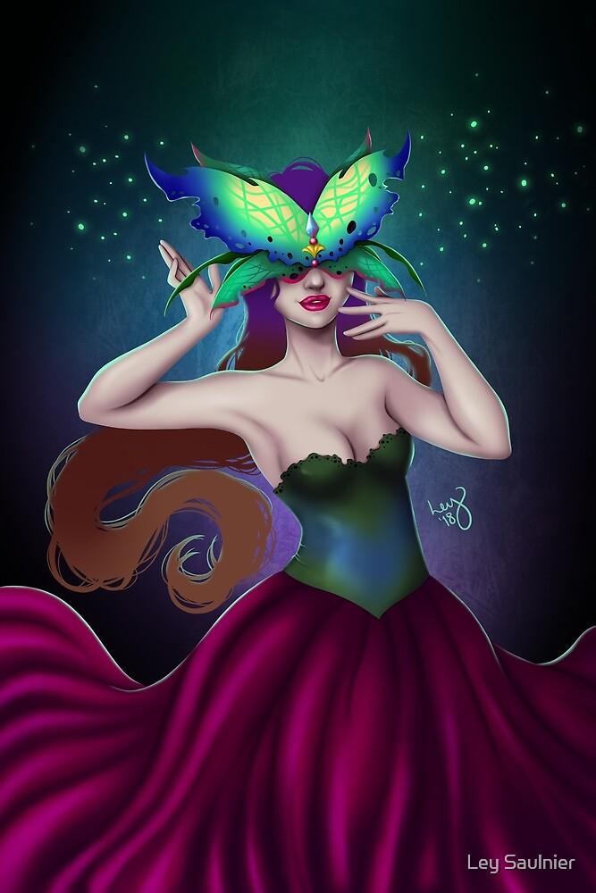 Masquerade by Ley Saulnier