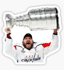 Ovechkin Stanley Cup Sticker