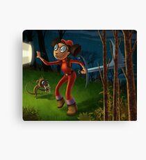 Alicia's adventure Canvas Print
