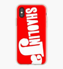 Rough Edges - White iPhone Case