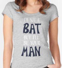 Bat Funny Geek Nerd Women's Fitted Scoop T-Shirt