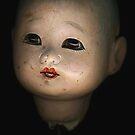 Japanese Doll Head by Barbara Wyeth