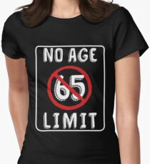 No Age Limit 65th Birthday Gifts Funny B Day For 65 Year Old Womens Fitted