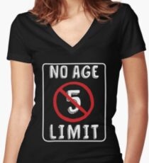 No Age Limit 5th Birthday Gifts Funny B Day For 5 Year Old Womens Fitted