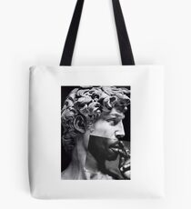 Michelangelo X Tupac Tote Bag