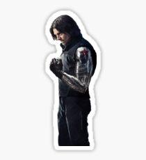 Winter Soldier sticker Sticker