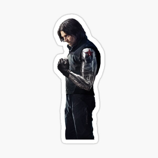Winter Soldier sticker Sticker