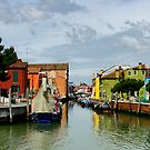 Burano by Harry Oldmeadow