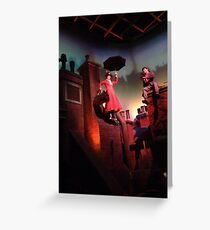 Mary Poppins- The Great Movie Ride Greeting Card