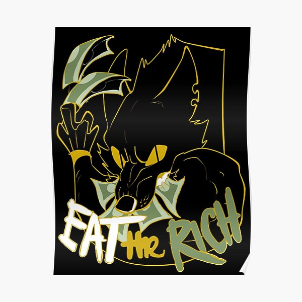 EAT THE RICH Poster