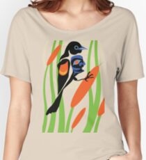 Red-winged blackbird Women's Relaxed Fit T-Shirt