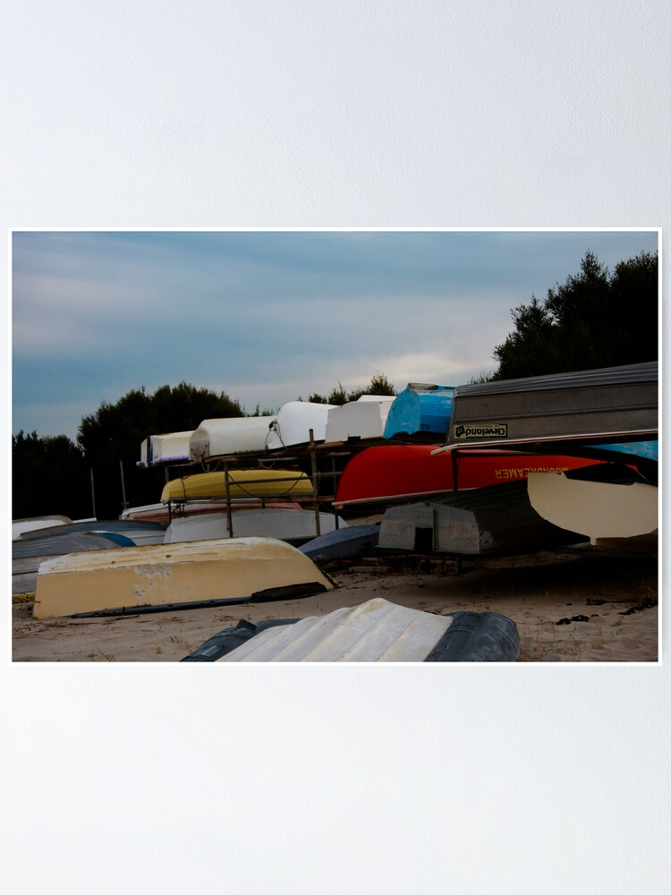 Alternate view of Boats Poster