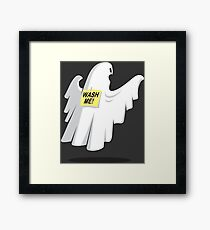 Haunted Humor Funny Geek Nerd Framed Print