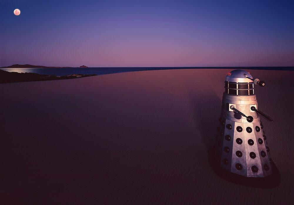 Dalek Dune by Mark Llewellynn
