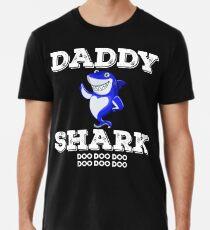Daddy Shark Tshirt Doo Doo Doo Matching Family Tee Shirt Premium T-Shirt