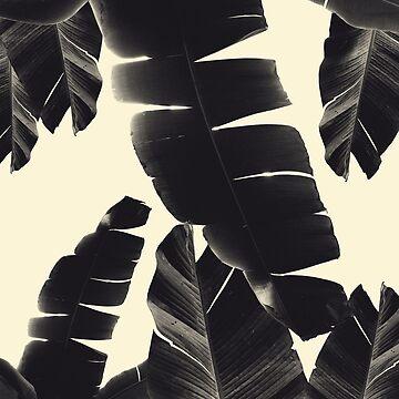 Banana Leaves Summer Vibes #4 #tropical #decor #art by anitabellajantz