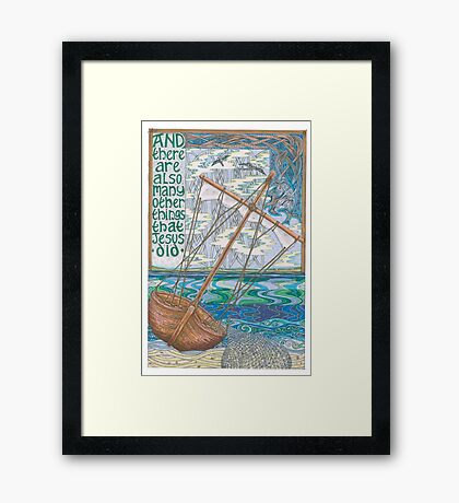 These and Other Things Framed Print