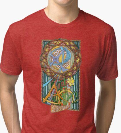 Alpha and Omega Tri-blend T-Shirt